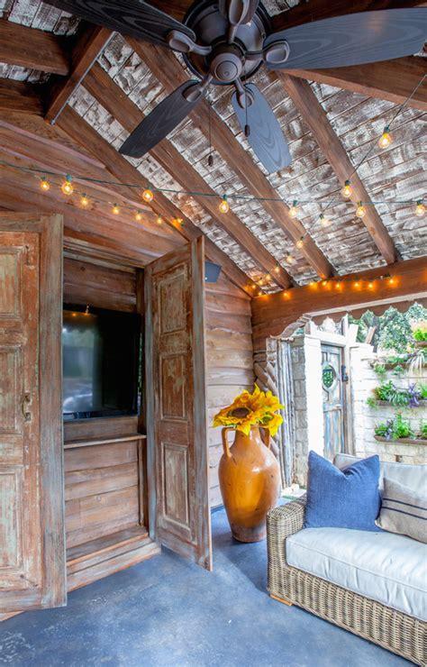 comfy rustic patio designs interior god
