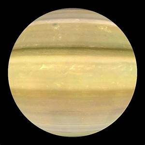 Saturn (enhanced colors) Dataset | Science On a Sphere