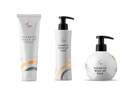 Metallic mascara tube mockup 43430. Free Cosmetic Packaging Mockups and Scene Creator Elements ...