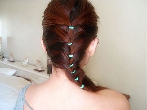 hair tutorial cute  simple braid inspired hairstyle