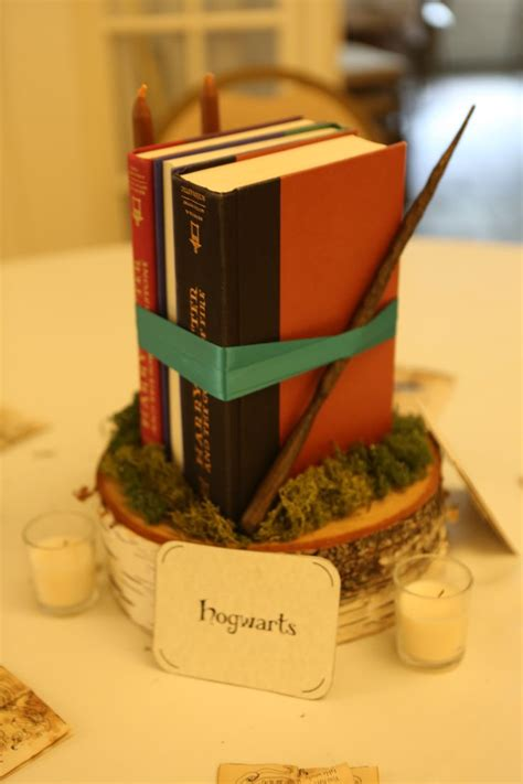 hogwarts harry potter table centerpiece harry potter