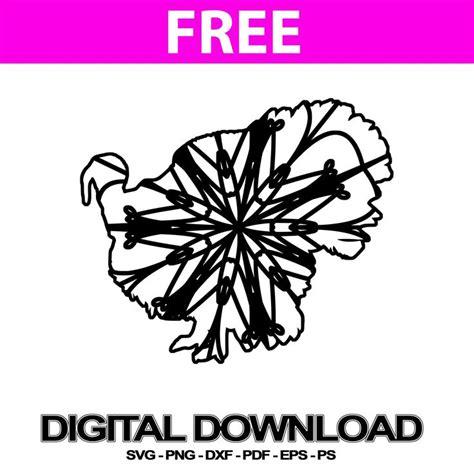 Ornamental mandala vector art free vector. Male Turkey Cheap Svg Files Mandala PNG | Svg Free | Free ...
