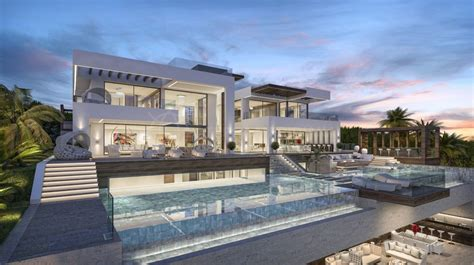 cuisine de luxe moderne build luxury modern villa for sale pool