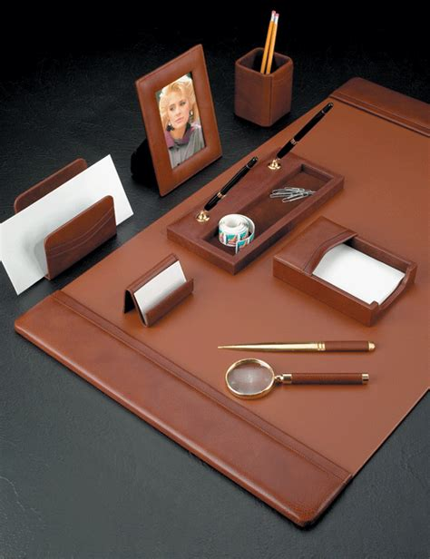 leather desk blotters and accessories leather desk blotter set