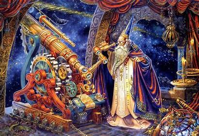 Wizard Earth Fantasy Astronomy Imgur Apocalypse