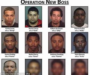 Dozen gang members arrested for posting threats to cops ...