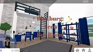 Bloxburg: Teen boy room! - YouTube