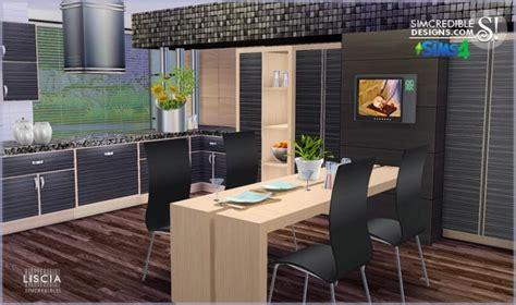 sims kitchen ideas sims 4 liscia kitchen