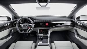 Audi Q8 Interieur : audi q8 int rieur audi cars audiq8 detroit2017 audi wallpaper pinterest ~ Medecine-chirurgie-esthetiques.com Avis de Voitures