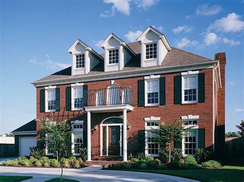 contemporary floor plans for homes brick colonial house brick colonial homes