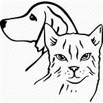 Vet Cat Dog Icon Pet Drawing Icons
