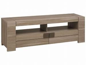 Tele 90 Cm : meuble tv 182 cm atlanta coloris ch ne fusain vente de meuble tv conforama ~ Teatrodelosmanantiales.com Idées de Décoration