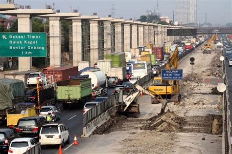 infrastructure projects  jakarta cikampek toll