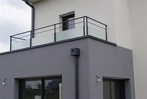 Garde Corps Sur Mesure : garde corps sur mesure balcon terrasse pose deauville ~ Melissatoandfro.com Idées de Décoration