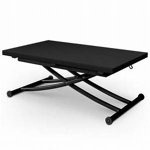 Table Basse Relevable Carrera Noir Carbone Achat Vente