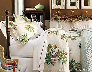 deco chambre inspiree par noel design feria With chambre bébé design avec deco fleurs pour noel