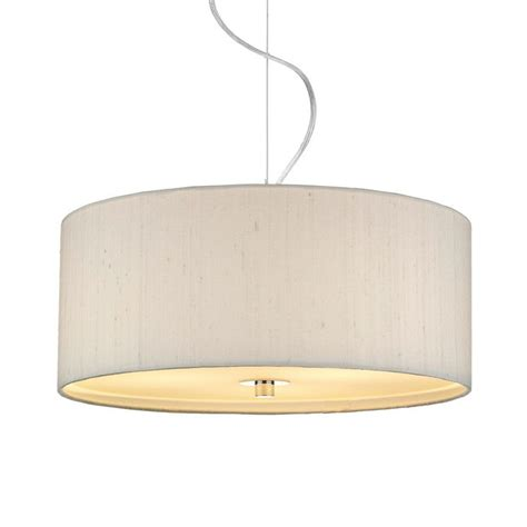 dupion silk drum shade ivory imperial lighting