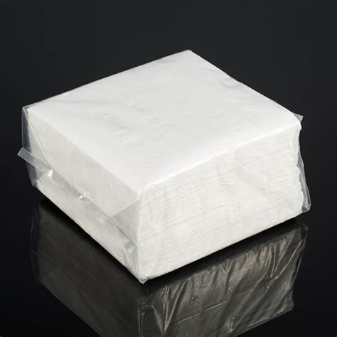 ply gsm white color dot embossing paper napkins