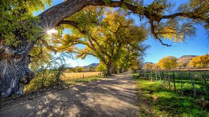 Country Landscape Road Autumn Trees Resolution Wallpapers13