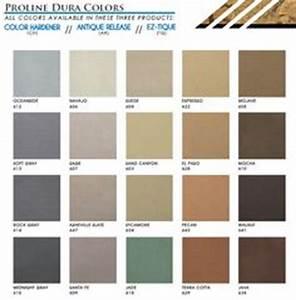 Standard Color Selection Guide For Brickform Color