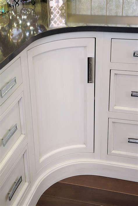 custom curved cabinet door  gambar