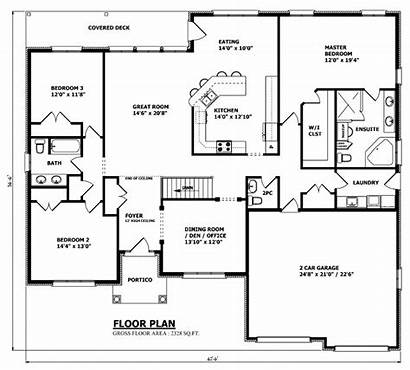 Plans Custom Plan Canadian Designs Floor Garage