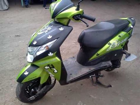 Bike Modification In Gorakhpur by Honda Dio Stickers Dio Green Stickering Designs Car