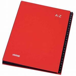 La Centrale Alphabet : trieur balacron alphab tique 24 compartiments extendos rouge vente de trieur alphab tique et ~ Maxctalentgroup.com Avis de Voitures