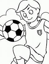 Soccer Coloring Balls Printable Ball Popular sketch template