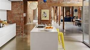 cuisine ilot central plans conseils d39amenagement With les plus belles cuisines ouvertes