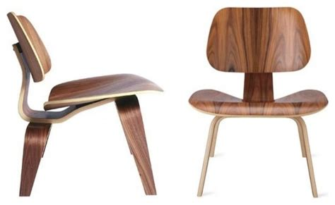 eames lcw molded plywood chair by rove concepts modern