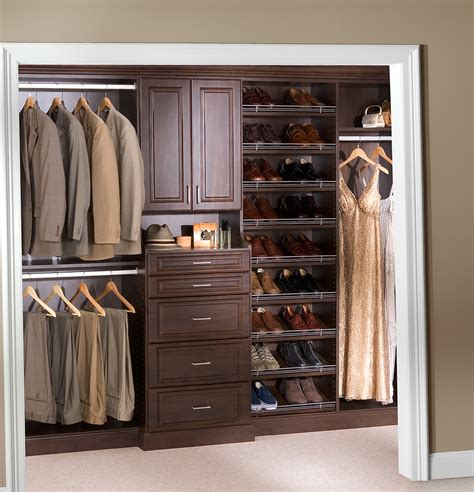 Closet Designs Amusing Closet Organizers Menards Wood