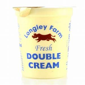 Double cream creme fraiche