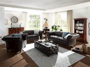 Sofa 3 2 1 : sofa garnitur chesterfield ii 1 2 3 echtleder braun chesterfield von massivum ~ Eleganceandgraceweddings.com Haus und Dekorationen