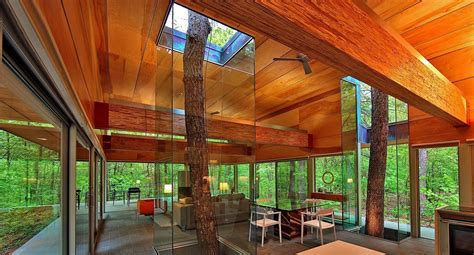 modern homes interior decorating ideas creative homes built around trees