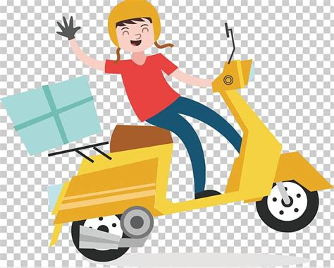 Delivery Euclidean Courier Scooter PNG, Clipart, Cars ...