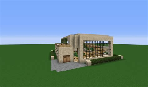 modern house  ground minecraft project