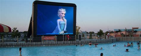 outdoor inflatable  screens