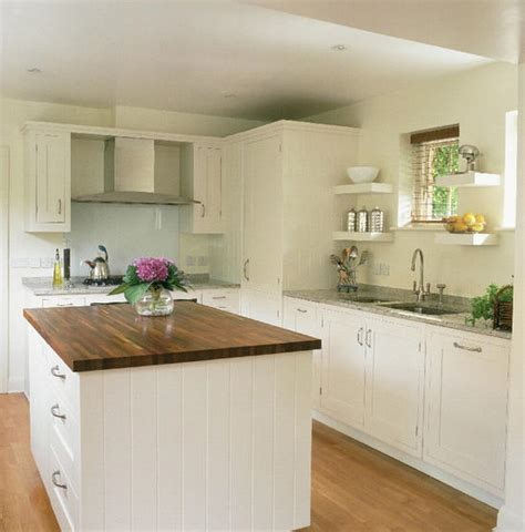 White Shaker Style Kitchen Cabinets  Home Design And