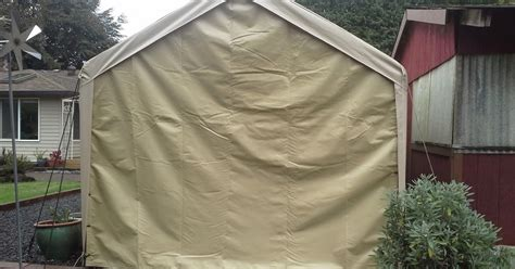 wichitacountrycom costco type  canopy picnic shelter garage carport tarps
