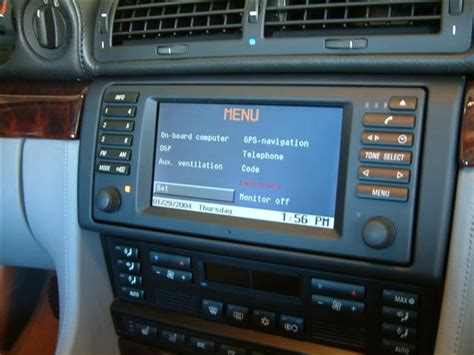 information   history  older bmw navigation systems