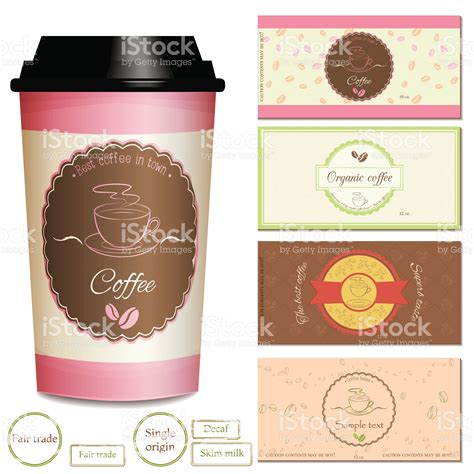 Don't worry, if creative coffee logo ideas still sound greek to you. Set of premium coffee shop logo and label designs, coffee cup labels.... | Этикетки