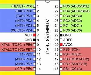 Atmega8 - Basic Input  Output Interfacing