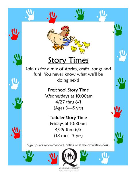 preschool story timecentral penn parent 845 | Story Time May June
