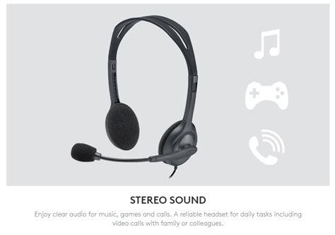 Logitech Headset H 111 Stereo logitech h111 stereo headset