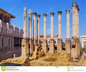 european house plans temple in cordoba spain royalty free stock images
