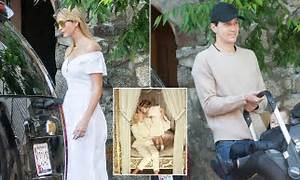 Ivanka Trump pops in white for Mother's Day | Daily Mail ...
