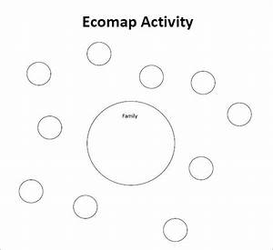 Example Blank Ecomap Template Social Work For