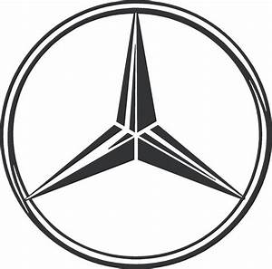 Mercedes Benz Emblem : mercedes benz logo vinyl decal sticker ebay ~ Jslefanu.com Haus und Dekorationen