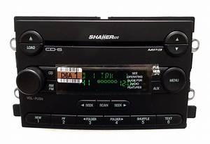 05 06 FORD Mustang Shaker 500 Radio Stereo 6 MP3 CD Disc Changer Player OEM | eBay